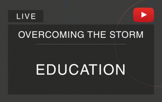 Live cover of the series 'Overcoming the Tempest', by Cosin Consulting, on Education