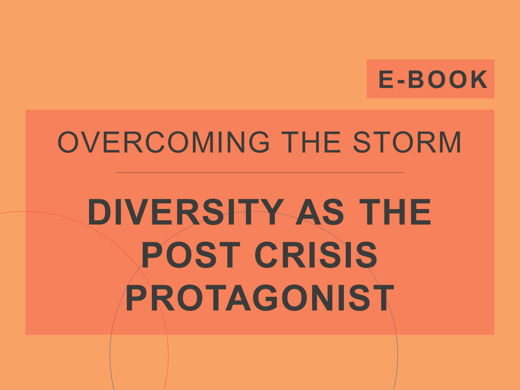 Diversity as The Post Crisis Protagonist' e-Book cover, from Cosin Consulting's e-Book series 'Overcoming the Storm'
