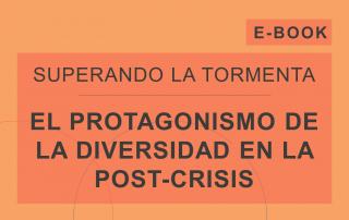 Capa del e-book 'El Protaonismo de la Diversidad en la Post-Crisis', de la serie de e-books de Cosin Consulting 'Superando La Tormenta'